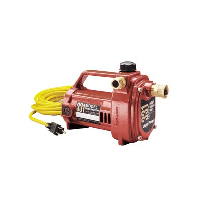 Liberty Pumps 1/2 HP Portable Transfer Pump