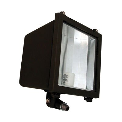 Barron Lighting One Light Metal Halide Flood Light in Architectural Bronze