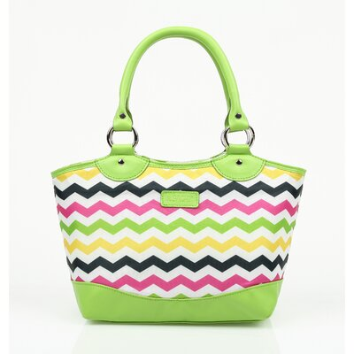 Insulated Fashion Style 36 Chevron Lunch Tote