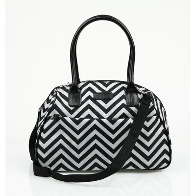 Insulated Fashion Style 173 Chevron Lunch Tote
