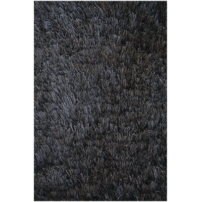Noble House Crystal Solid Black Rug