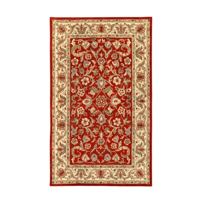 Noble House Harmony Red/Beige Rug