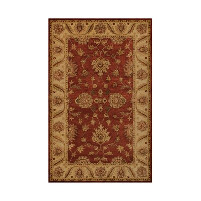 Noble House Imperial Burgundy/Camel Rug