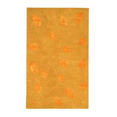 Noble House Florence Gold/Tangerine Rug