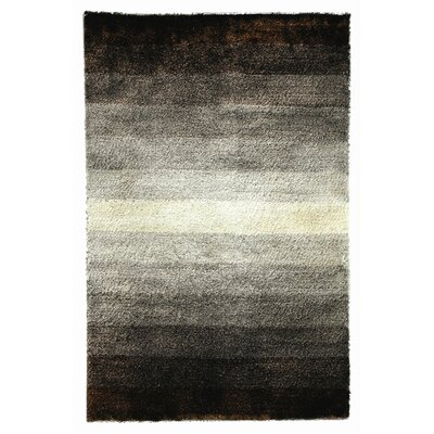 Noble House Jewel Brown/White Rug