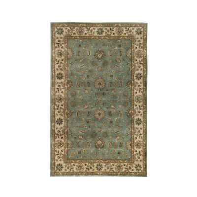 Vintage Light Blue/Beige Rug