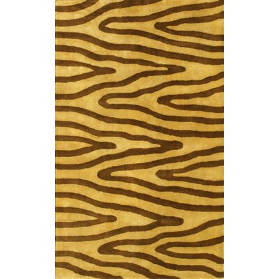 Noble House Eleen Light Gold/Brown Rug
