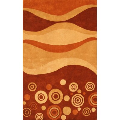 Noble House Eleen Multi Rust Rug