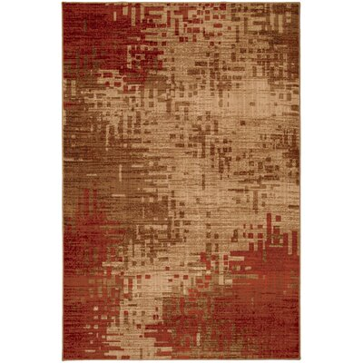 Mohawk Select Select Kaleidoscope Inferno Red Rug