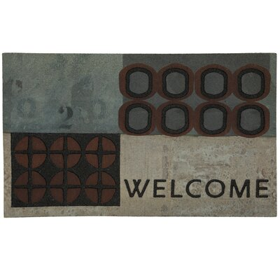 Mohawk Select Doorscapes Abstract Welcome Doormat