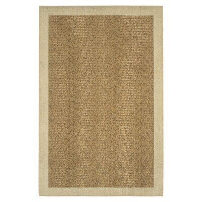 Mohawk Home Raffia Biscuit/Gold Reed Rug