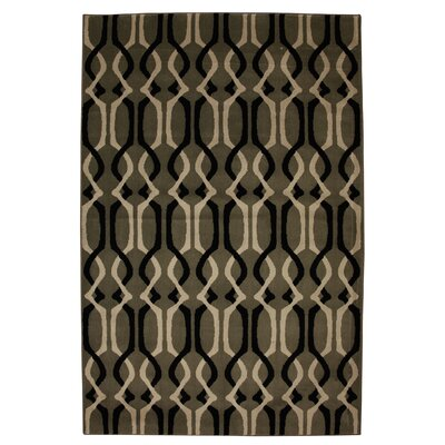 Mohawk Home Cachet Mushroom Interwoven Lattice Rug