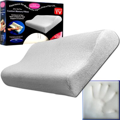 Remedy Memory Foam Comfort Bed Pillow