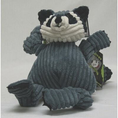 Hugglehounds Knotties Raccoon Dog Toy