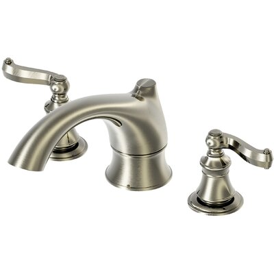 Estora Brescia Double Handle Deck Mount Roman Tub Faucet