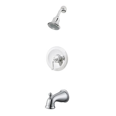 Estora Dual Control Complete Shower Faucet Set with Optional Tub Spout