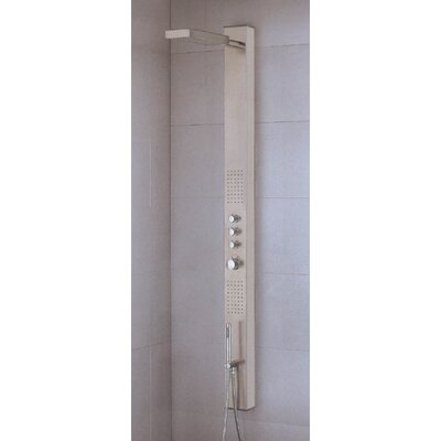 Artos Sicily Stainless Steel Shower Panel