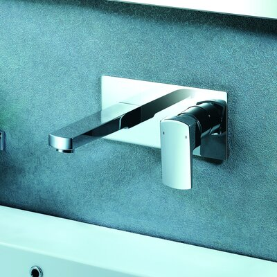 Safire Wall Mounted Bathroom Faucet with Single Lever Handle - F701-4BN / F701-4CH