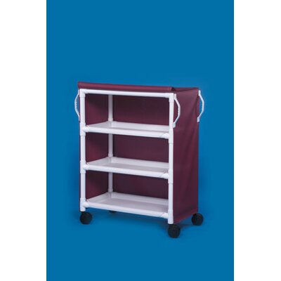 Deluxe 3 Shelf Linen Cart