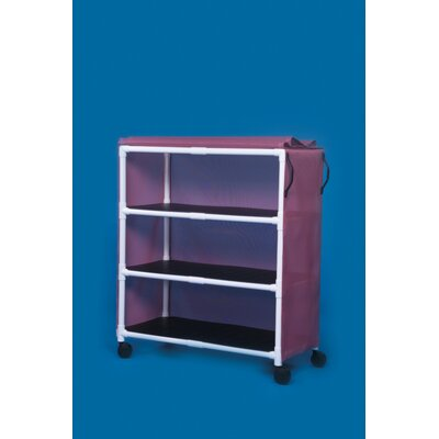 3 Shelf Standard Linen Cart