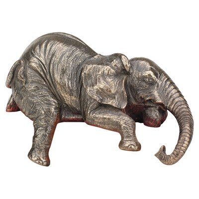 <strong>Design Toscano</strong> Ernest the Lounging Elephant Sitting Statue