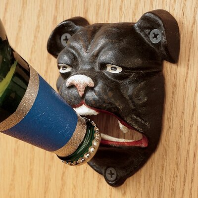 Design Toscano English Bulldog Bottle Opener