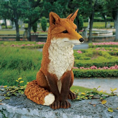 Simon The Fox Garden Statue
