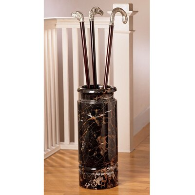 Design Toscano Marble Cane and Umbrella Stand