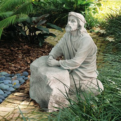 Jesus in The Garden of Gethsemane Statue