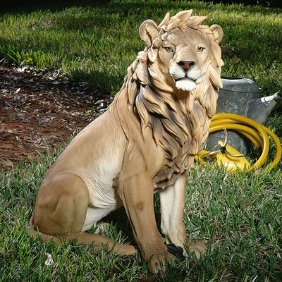 Design Toscano King of Beasts Lion Statue
