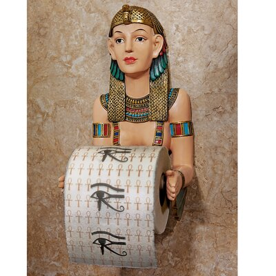 Design Toscano Egyptian Priestess A Kah Kah Loo Bath Tissue Holder