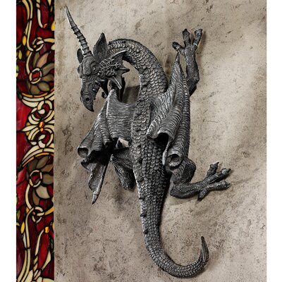 Design Toscano Horned Dragon of Devonshire Wall Sculpture