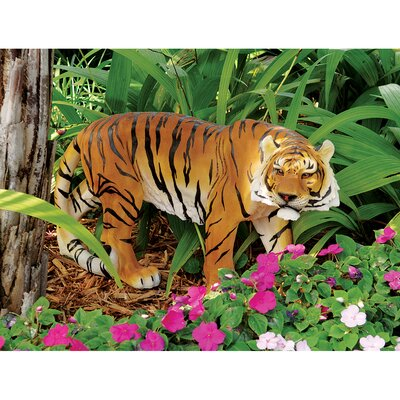 Power and Grace Sumatran Tiger Statue