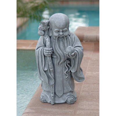 Shou Xin Gong Chinese God of Longevity Statue