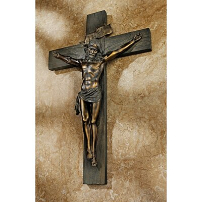 Design Toscano Crucifixion Cross of Jesus Christ Wall Décor