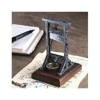 Desk-Sized Guillotine Figurine