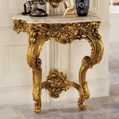 Design Toscano Madame Antoinette Wall Console Table