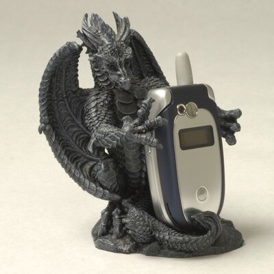 Design Toscano Versilius the Dragon Mp3 Player/Cell Phone Holder