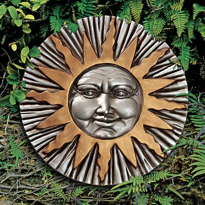Rising Summer Sun Wall Sculpture