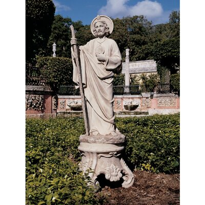 Design Toscano Saint Jude Patron Saint of Hopeless Cases Garden Statue