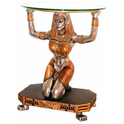 Design Toscano Egyptian Goddess Ma'at Console Table