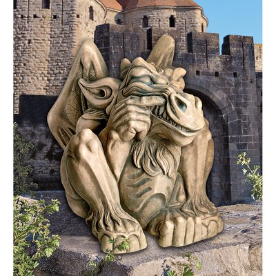 Feast on Fools Gargoyle Statue