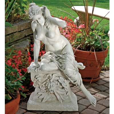 Design Toscano Goddess Demeter at Rest Garden Statue