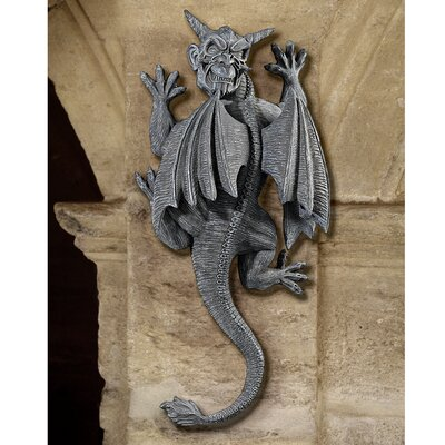 Design Toscano Gargoyle Demon on the Loose Wall Sculpture