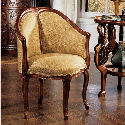 design toscano louis xv fauteuil de bureau chair reviews. Black Bedroom Furniture Sets. Home Design Ideas