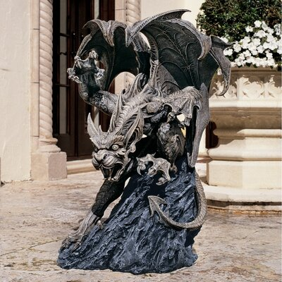 Scatheus Guardian of The Shadows Gargoyle Statue