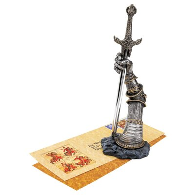 Design Toscano Excalibur Opener / Desk Accessory Figurine