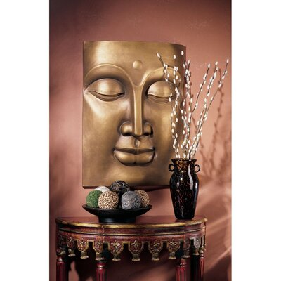 Design Toscano The Serene Buddha Grande Wall Frieze