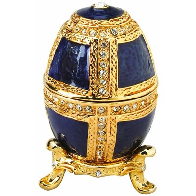 Design Toscano Anya Faberge Style Collectible Enameled Egg