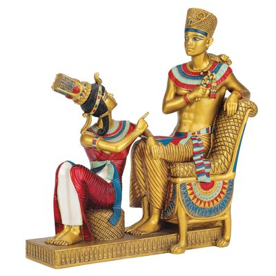 King Tut's Egyptian Throne Room Statue